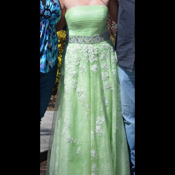 Dresses Lime Green Prom Dress Poshmark